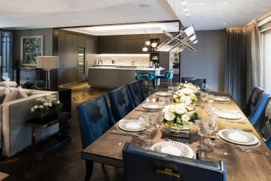 The Brummell Penthouse: Kitchen and dining