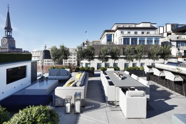 The Brummell Penthouse: Roof terrace