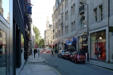 Original buildings from Rathbone Place