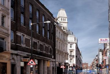 Original Buildings from Soho Street