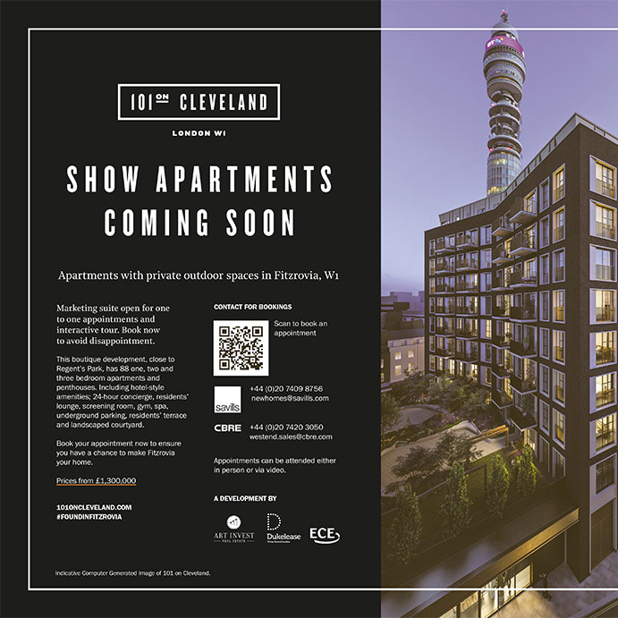 101 on Cleveland Show Apartments launching soon